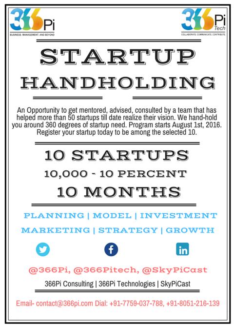 Hand-Holding Startups