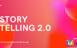 Importance of stories in brand building.